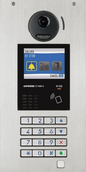 Aiphone GT-series-multi-tenant-video-intercom